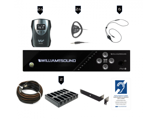 Pic of FM-558-24-Pro Personal Listening System